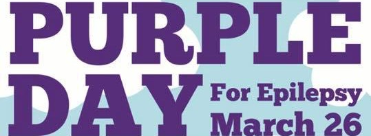 Let's Raise Awareness to Epilepsy and Wear #PurpleforKaia