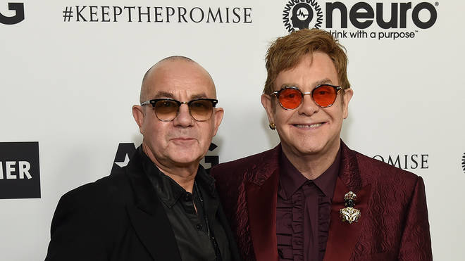 Elton John and Bernie Taupin respond to seeing Rocketman for the first time.
