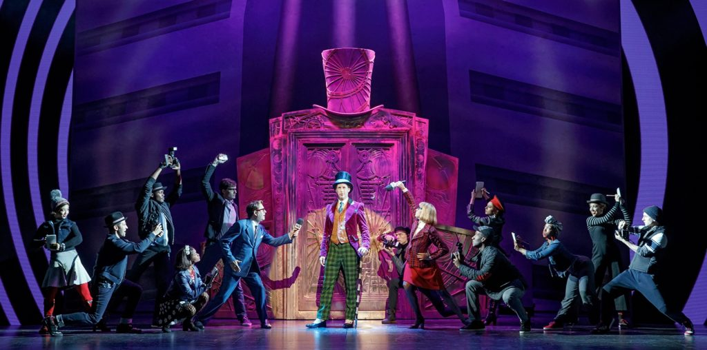 ROALD DAHL'S CHARLIE AND THE CHOCOLATE FACTORY AT THE  SAN DIEGO CIVIC THEATRE
