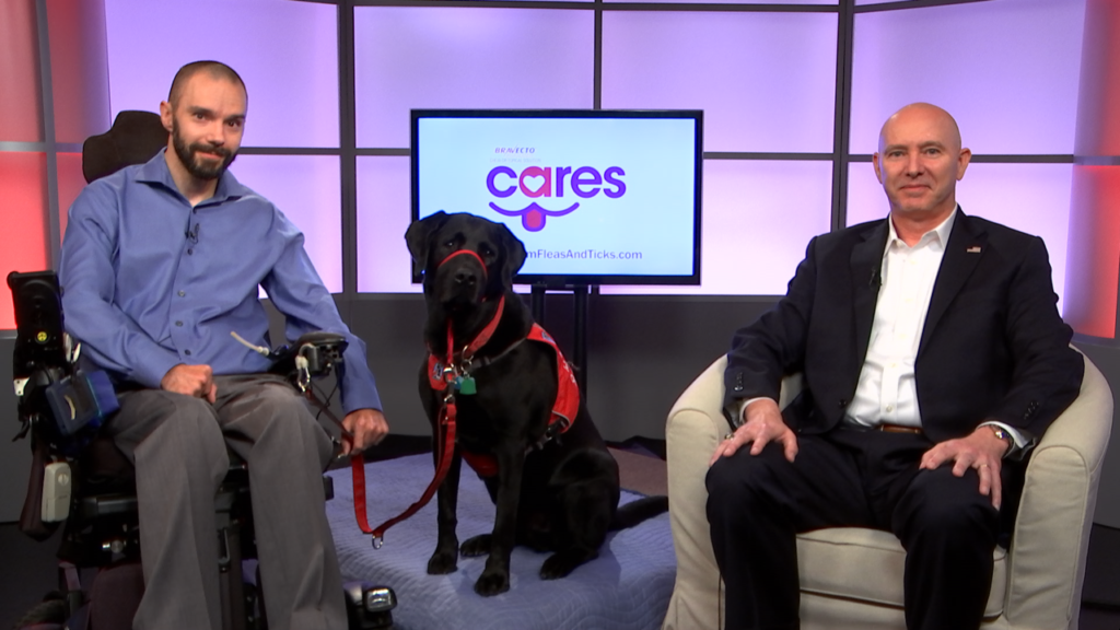 See How a Service Dog is Helping a Man with Quadriplegia Live Independently After a Tragic Mountain Biking Accident