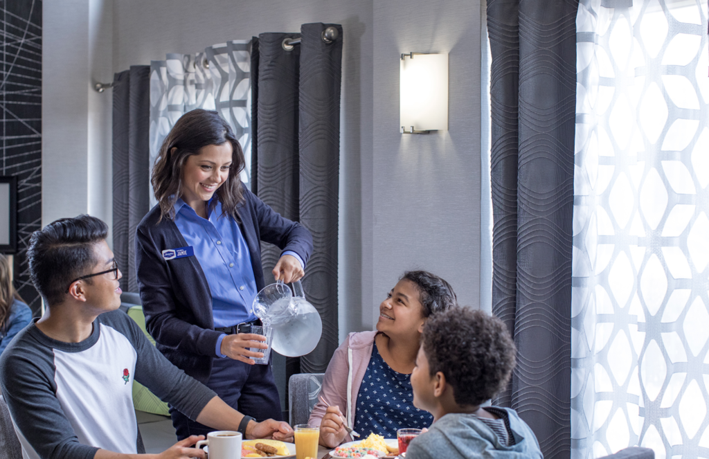 The Hilton State of Breakfast Pledge to Eat Breakfast Together