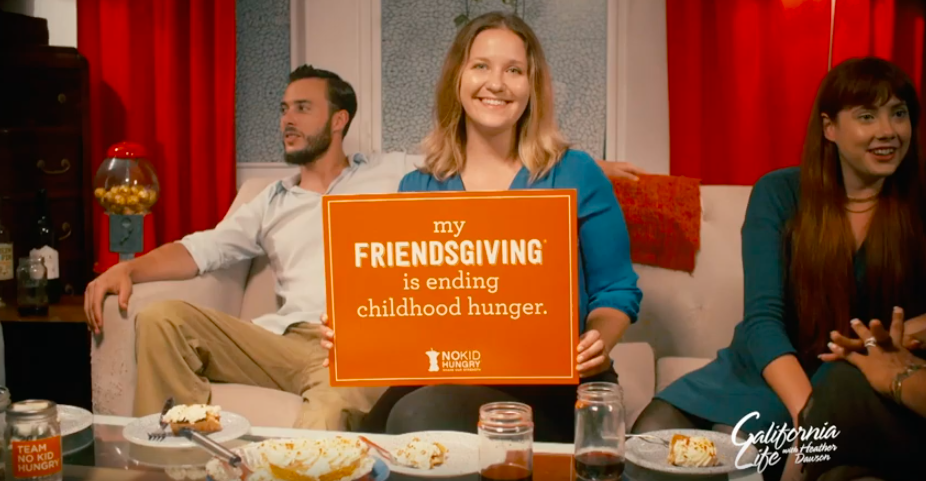 How Friendsgiving Can End Childhood Hunger