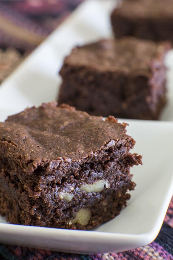 Savor The Ranch: Quinoa Walnut Brownies