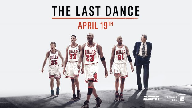 """ESPN and Netflix Set New April 19 Premiere Date for Highly Anticipated Documentary Series """"The Last Dance"""""""