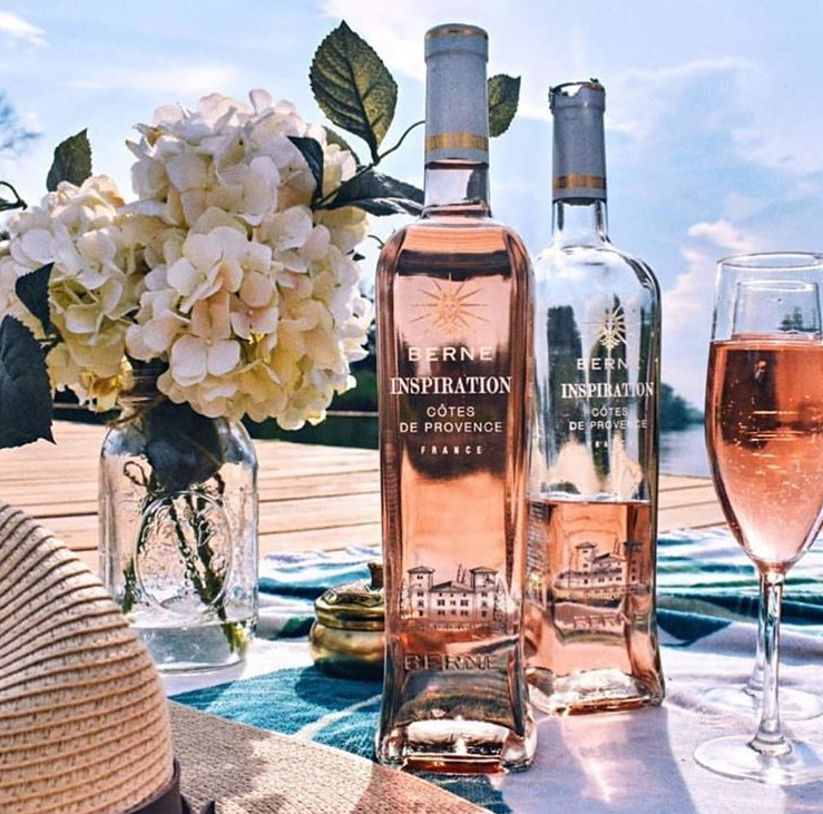 """Provence Rosé Group To Fête National Rosé Day in First-of-its-Kind, Global """"Virtual Celebration"""" featuring Château de Berne's Inspiration Rosé"""