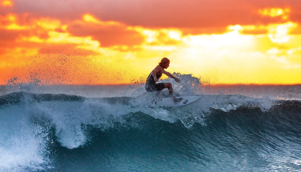 "Quarantine Surf Getaway: Kendall Holmstrom's ""Relaxing Under Pressure"""