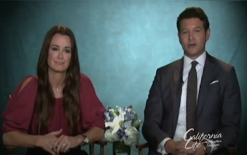 """Inside Look at """"Real Housewives of Beverly Hills"""" Actress Kyle Richards and Ophthalmologist Dr. Christopher Starr and an Insightful Look at Dry Eye"""