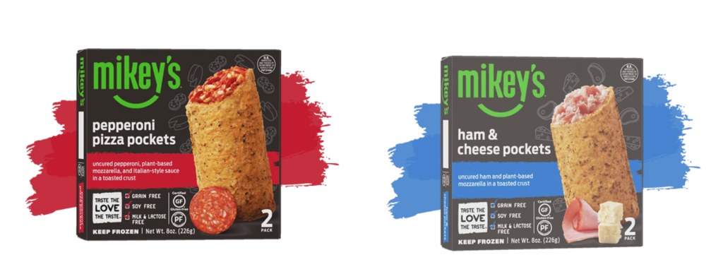 """Mikey's Dairy-Free, Gluten-FreePockets Complete the Line of Mikey's Gluten-Free Products Just In Time For """"Non"""" Dairy Month"""