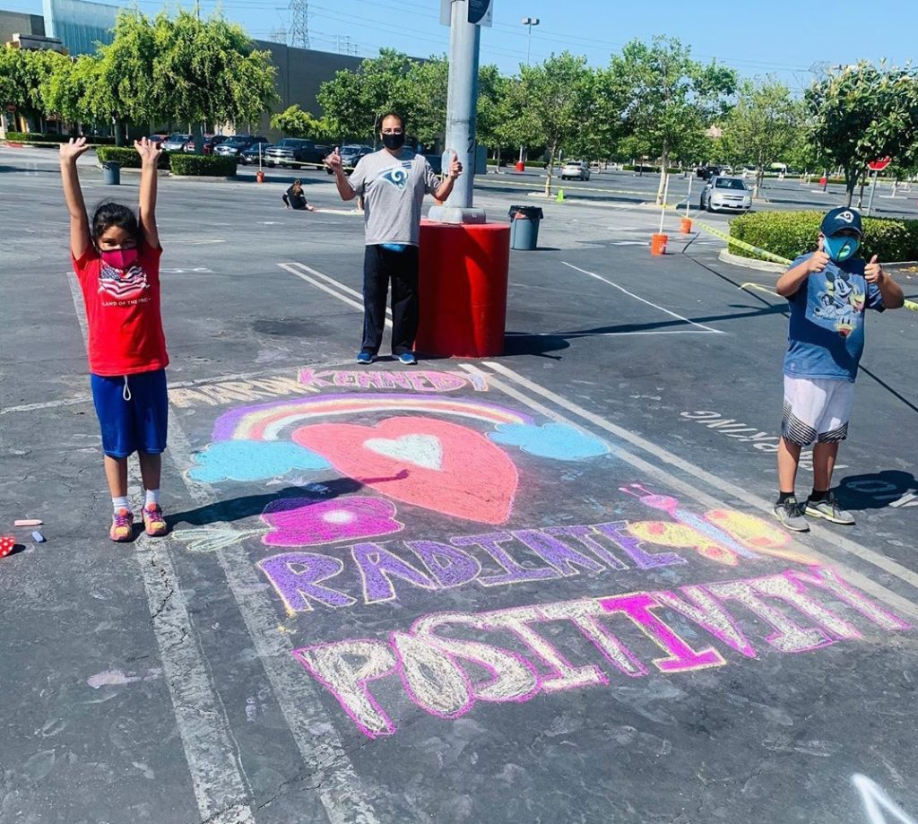 The Shops at Montebello Hosted its First Annual Chalk-For-A-Cause in Partnership with the City of Montebello