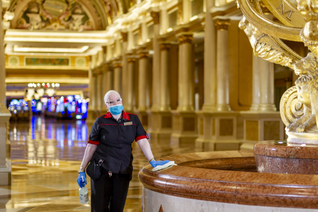 The Venetian Resort Re-opens with New Commitment to Safety & Cleanliness