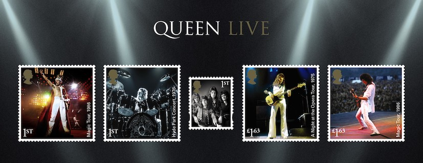 Queen Honored with the New Official British Stamp Collection