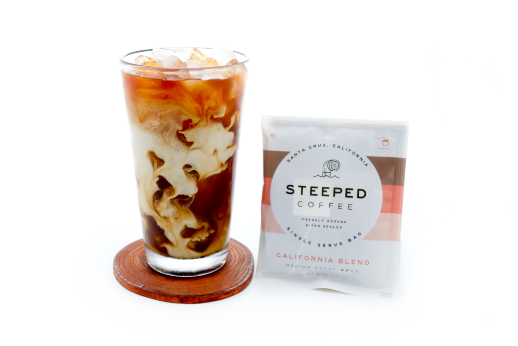 THE SECRET TO MAKING THE PERFECT ICED COFFEE? IT'S IN THE BAG