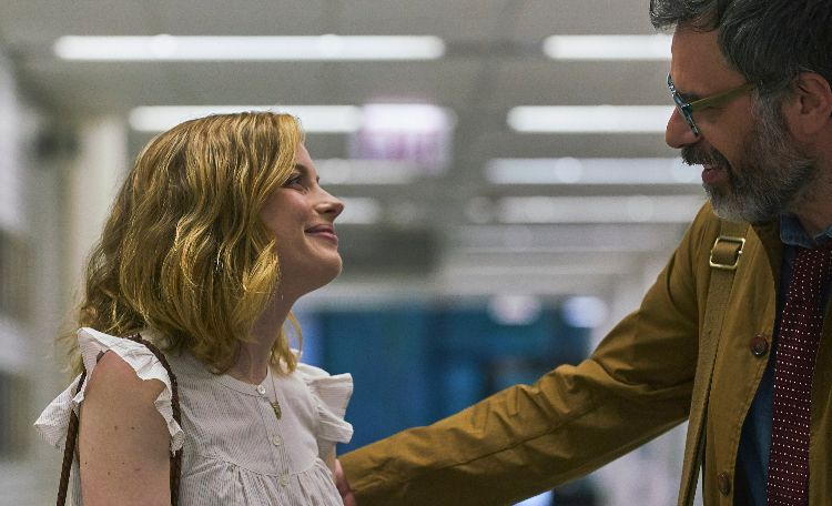 First Look of Kris Rey's Comedy I USED TO GO HERE w/ Gillian Jacobs & Jemaine Clement