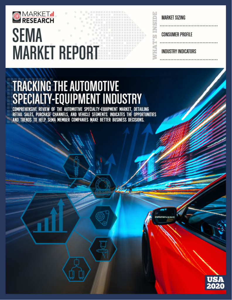 AUTOMOTIVE SPECIALTY EQUIPMENT MARKET EXPECTED TO REBOUND