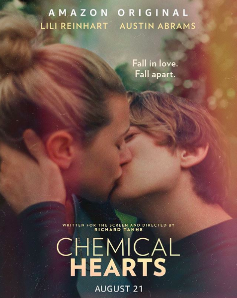 "Movie Review: Two teenage lovers' chemical sparks drive their""Chemical Hearts"""