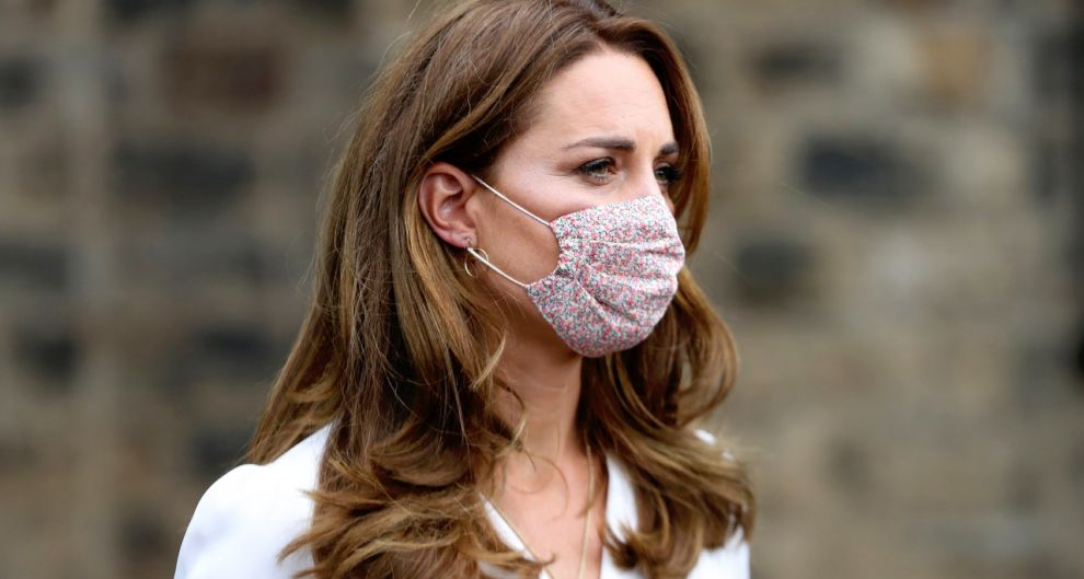 Everyone wants a floral face mask Now like Kate Middleton