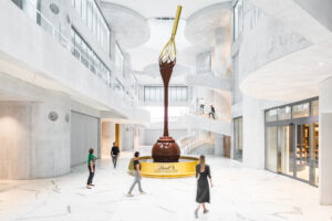 LINDT HOME OF CHOCOLATE WORLD OF CHOCOLATE OPENED IN KILCHBERG NEAR ZURICH