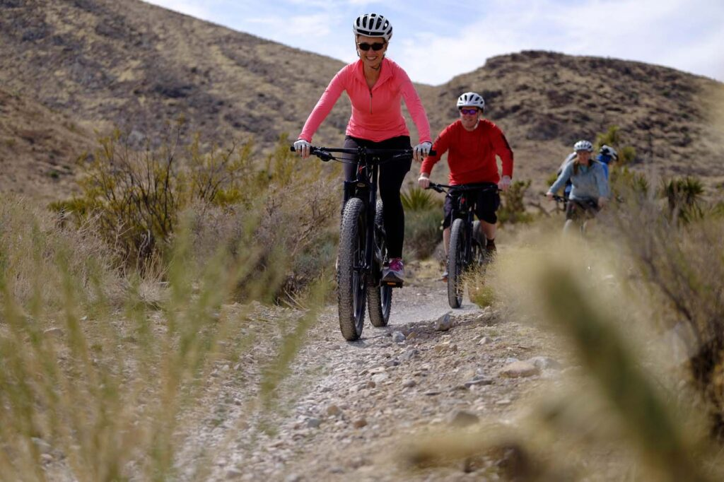 Family-Friendly Camping + Mountain Biking Tour of Death Valley and Red Rock Canyon