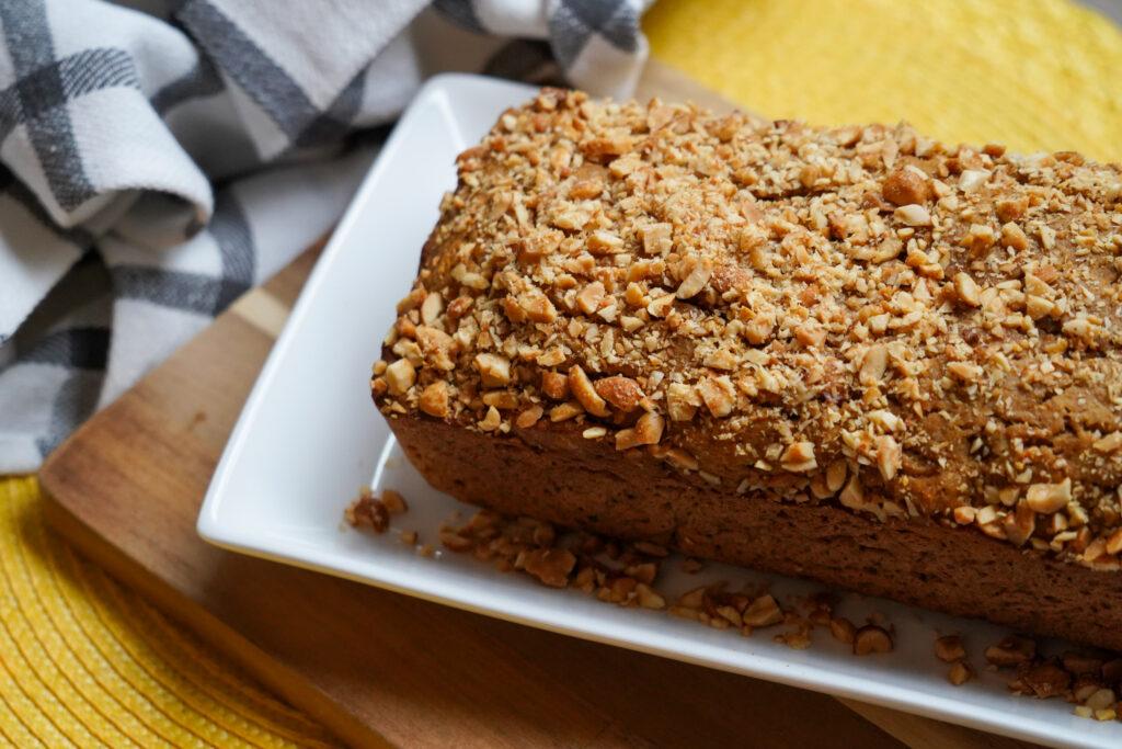Thanksgiving Recipe: Peanut Butter Sweet Potato Bread