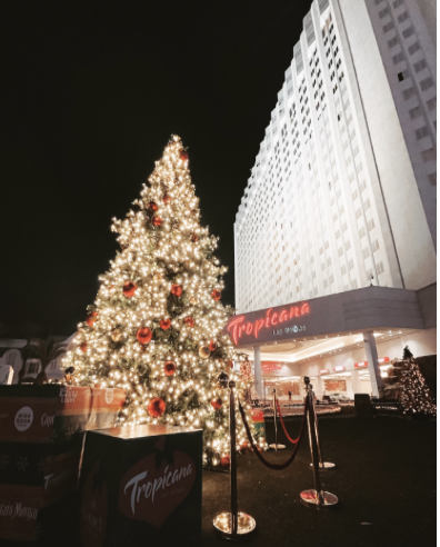 TROPICANA LAS VEGAS® UNVEILS HOLIDAY IN PARADISE  SPREADING HOLIDAY CHEER THROUGH JANUARY 3