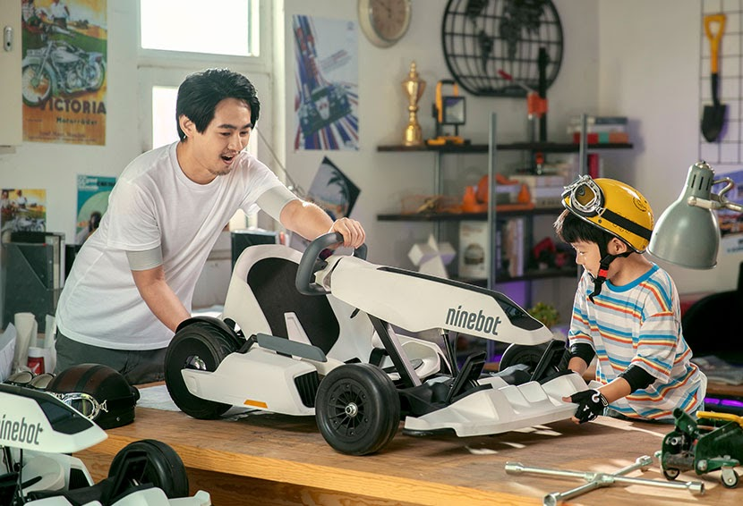 Build, Bond and Breeze Through Your Favorite Path with Segway's Go Kart Kit!