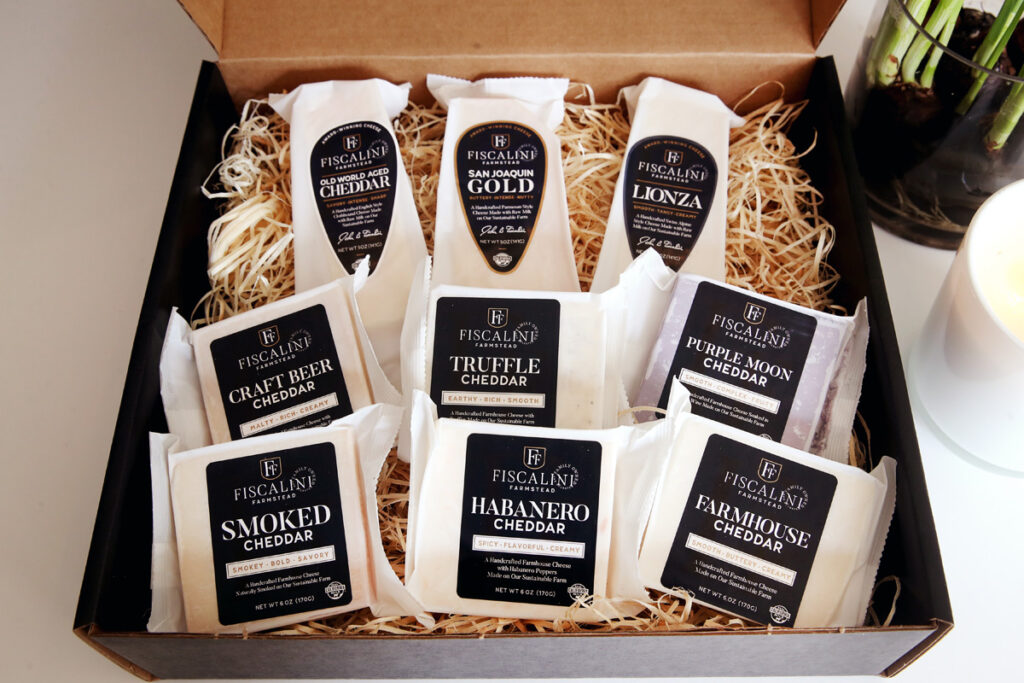 Gift Boxes Now Available- Fiscalini Farmstead