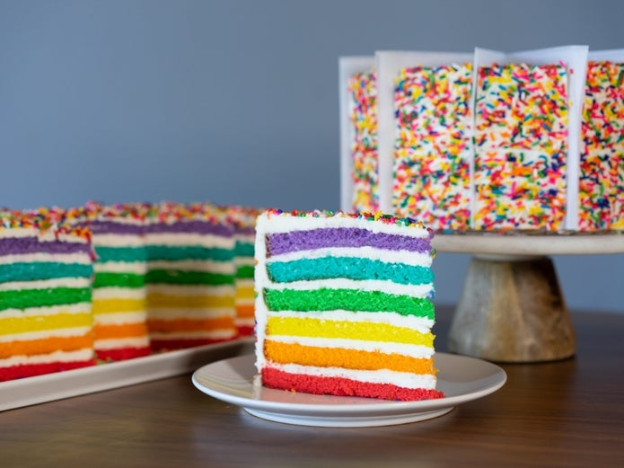 Families Adjust to Celebrate in a COVID World, TGI Fridays Responds with Rainbow Cake and Platter Delivery