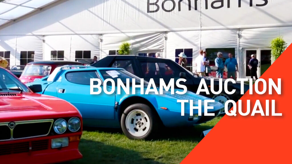 Bonhams Auction at the Quail