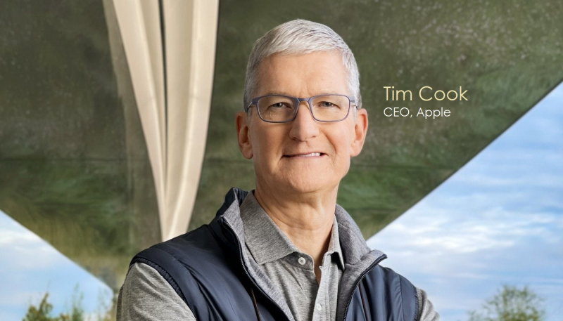 OUTSIDE Executive Editor Michael Roberts Conducts Exclusive Interview with: TIM COOK, APPLE CEO