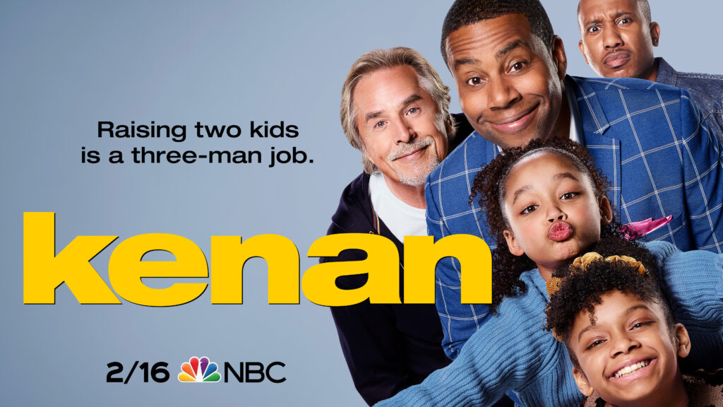 "Don Johnson Stars in NBC's new sitcom ""Kenan"""