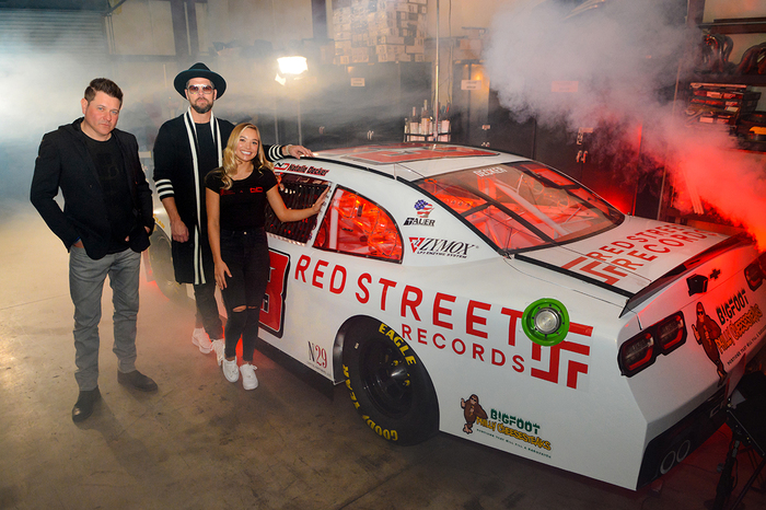 Jay DeMarcus Announces Red Street Records Sponsorship of NASCAR Driver Natalie Decke
