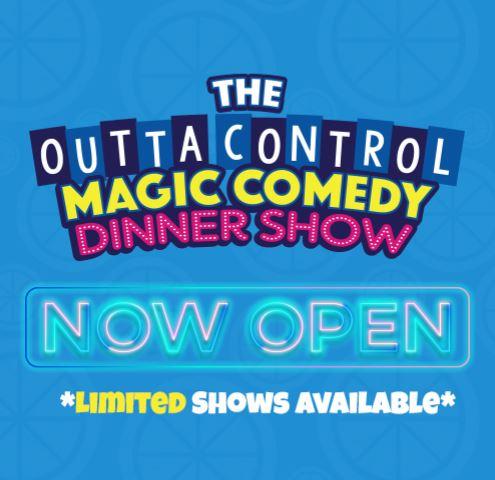 WonderWorks Orlando Re-Opening Magic Comedy Dinner Show