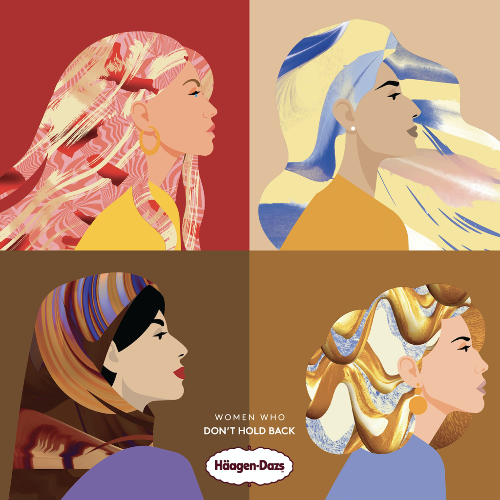 Häagen-Dazs Renames Its Iconic Flavours to Celebrate 'Women Who Don't Hold Back'