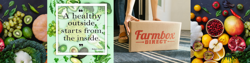 MEET Farmbox Direct, a pioneer in the wellness & food delivery space offering customizable boxes of fresh fruits, veggies & juices