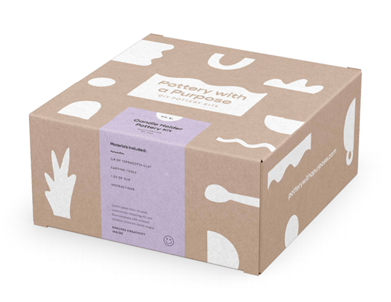 Pottery with a Purpose™ Delivers DIY to Your Door with Eco-Friendly Adult Sculpting Kits Featuring Everything Necessary to Unplug, Unwind, and Unleash Imagination