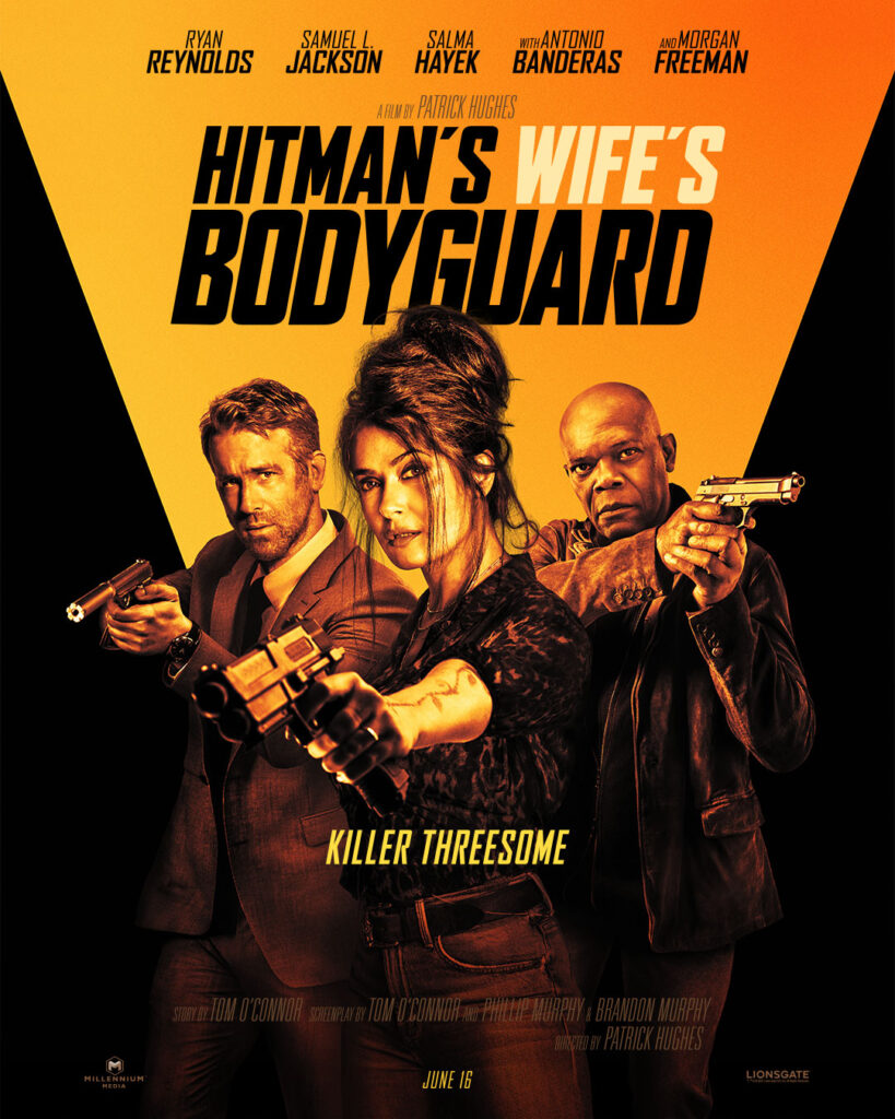 THE HITMAN'S WIFE'S BODYGUARD  OFFICIAL TEASER TRAILER, POSTER and IMAGES  NOW AVAILABLE