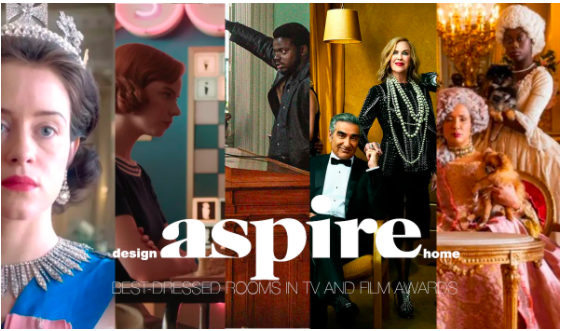 aspire design and home magazine Announces the Winners of the Best-Dressed Rooms in TV and Film Awards!