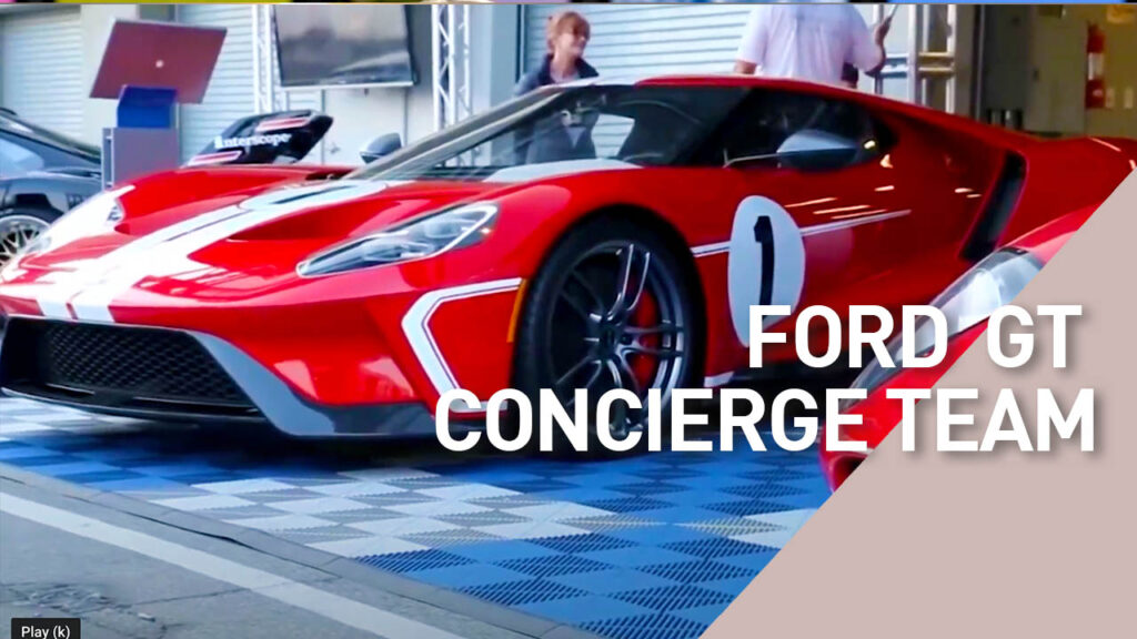 Interview with Ford GT specialist at Laguna Seca