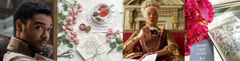 LUX TEA & SETS- The Duke may be leaving Bridgerton – but we got mom covered with LaRue 1680 – GIFT GUIDES & MORE