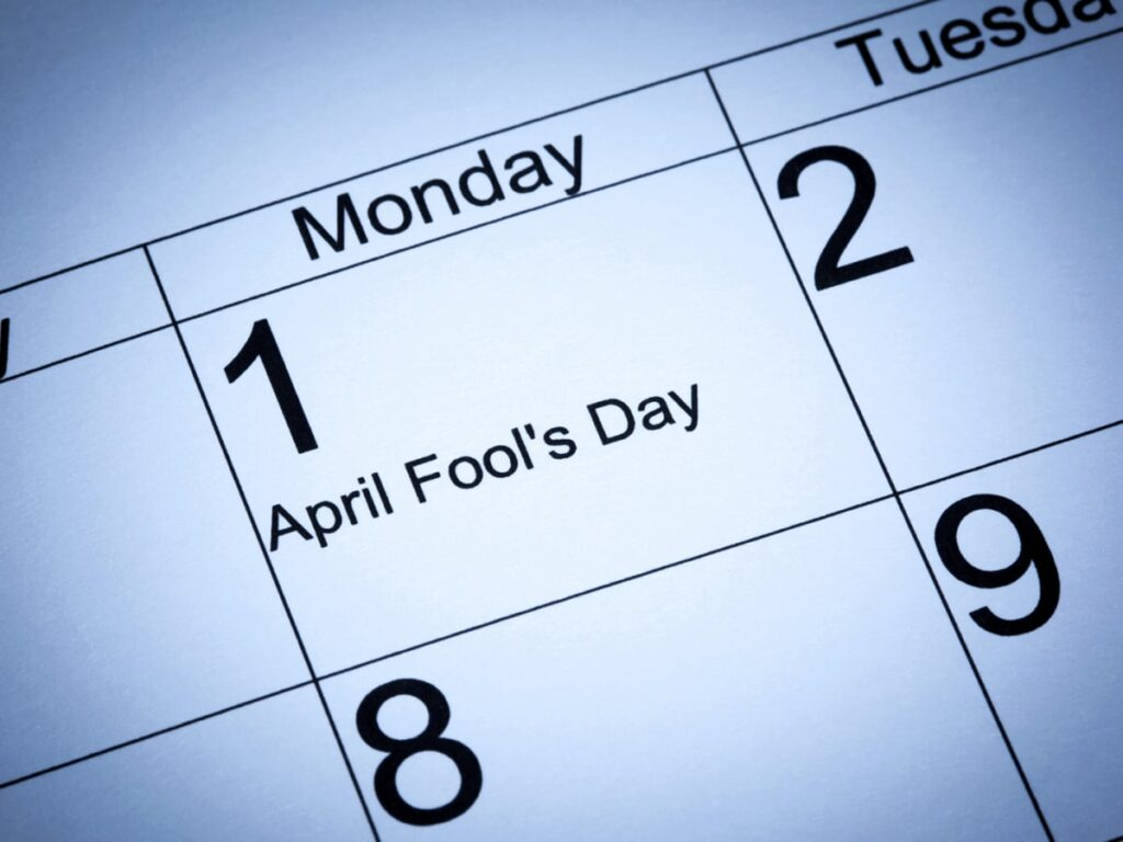 April Fools 2021: Classrooms to Receive a Healthy Dose of Humor