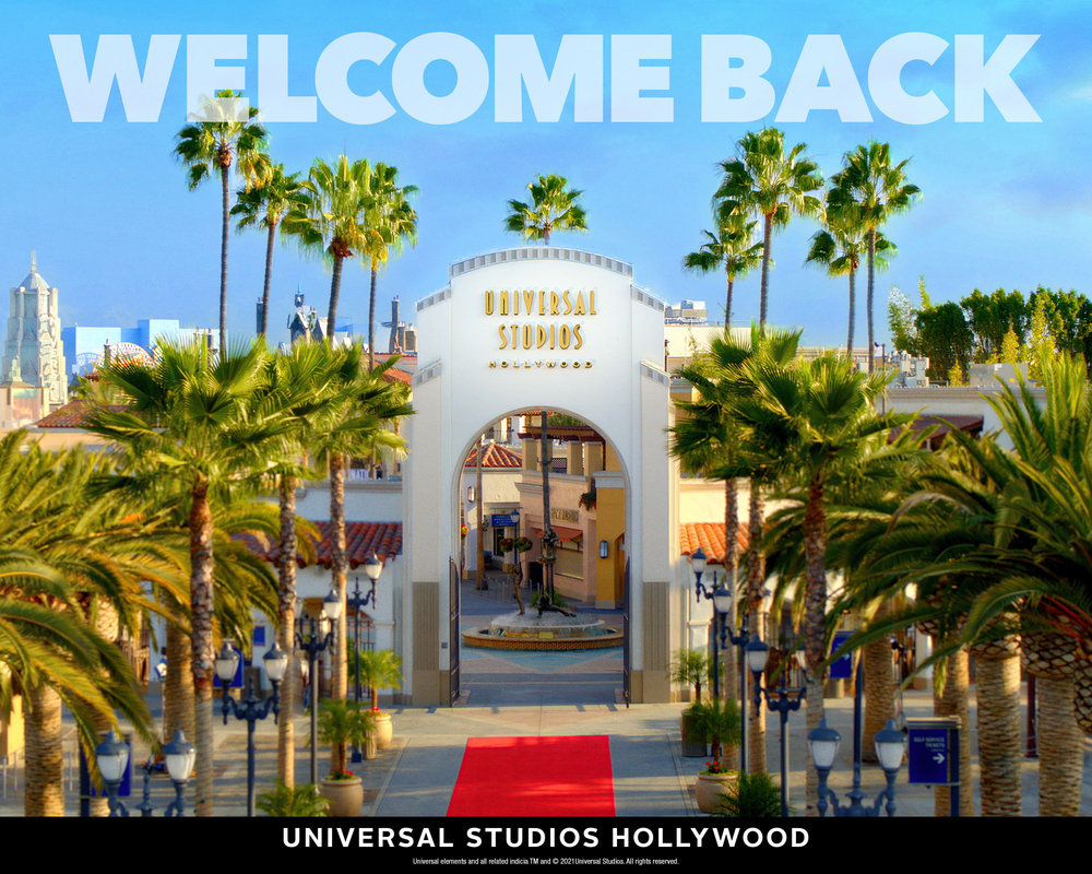 Universal Studios Hollywood to Reopen on Friday, April 16