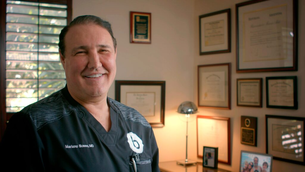 Dr. Busso Talks Non-Surgical Therapy