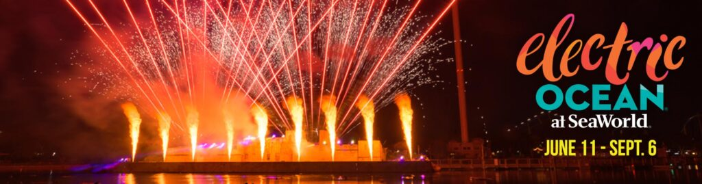 THIS SUMMER SEAWORLD SAN DIEGO'S ELECTRIC OCEAN LIGHTS UP WITH DAZZLING AND ILLUMINATING ENTERTAINMENT