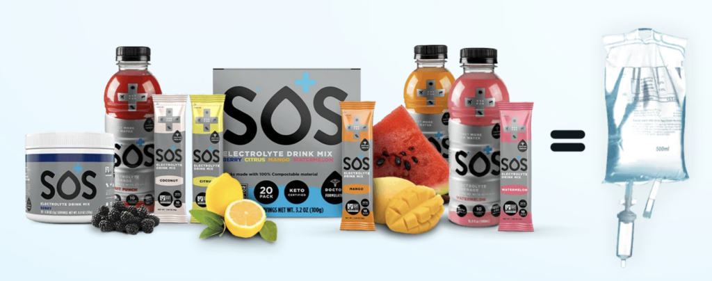 Conquer Dehydration with SOS Hydration for National Hydration Day