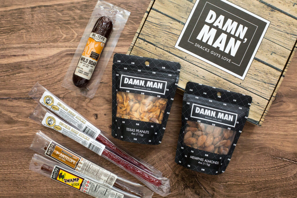 JUST IN TIME FOR FATHER'S DAY: SUGAR PLUM'S MANLY NUTS AND MEAT GIFT ASSORTMENT