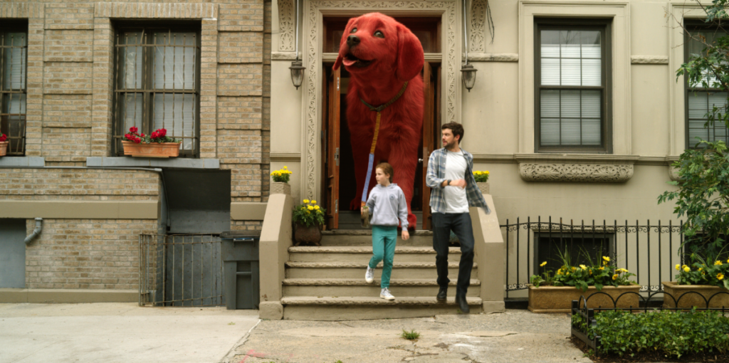 Check out the new trailer for Clifford the Big Red Dog