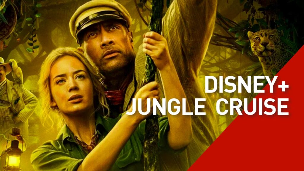 Dwayne Johnson and Emily Blunt star in new Disney+ movie, Jungle Cruise
