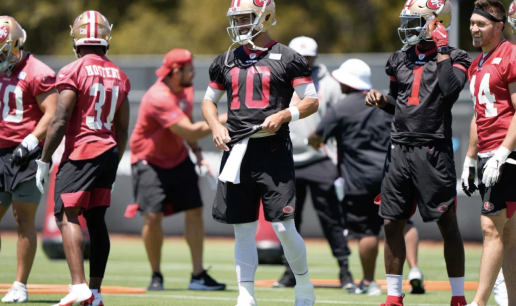 The San Francisco 49ers Training Camp As Trey Lance Signs Rookie Deal