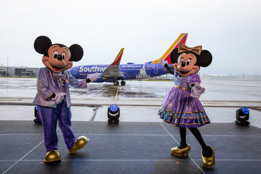 Ready for a magical adventure? Southwest announces their new Disney-themed plane
