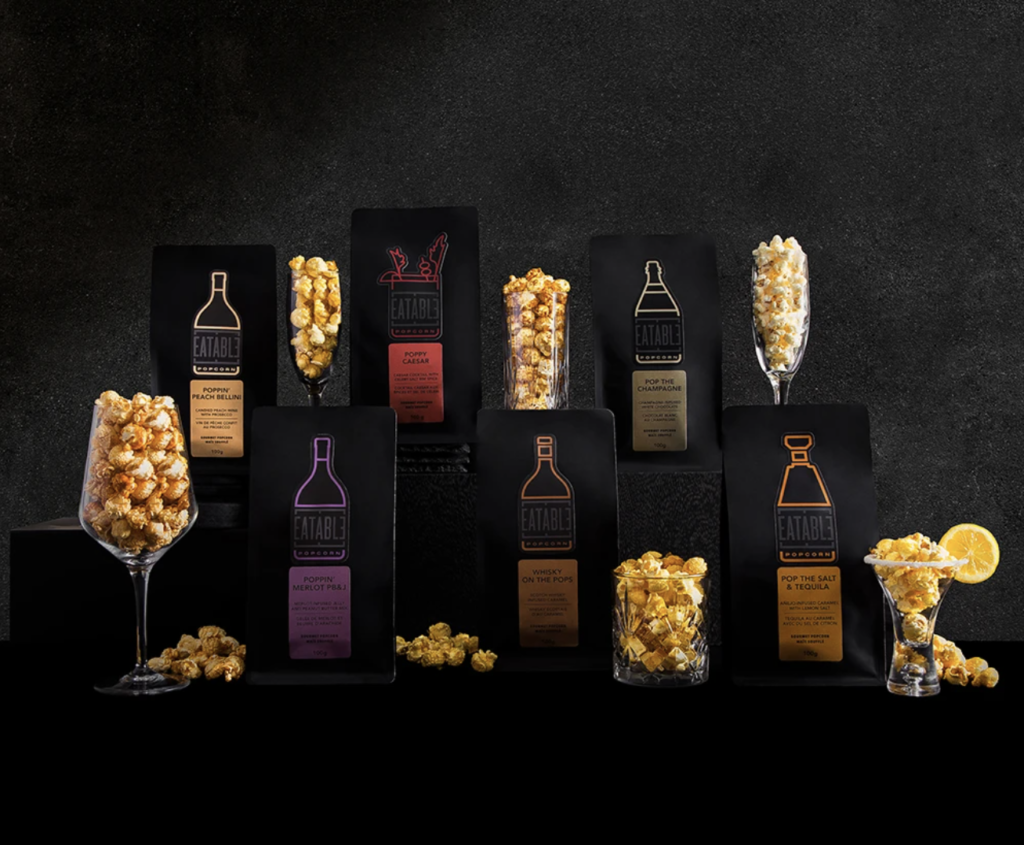 Find Your Perfect Pairing with Wine & Spirit Infused Gourmet Popcorn